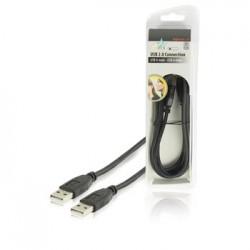 HQ USB 2.0 kabel USB A mannelijk - USB A mannelijk 1,80 m