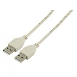 Valueline USB Kabel 1.1 A mannelijk - USB A mannelijk 3,00 m