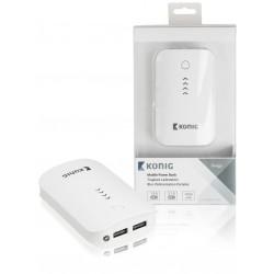 Koning 7800mAh compacte powerbank voor o.a. tablet en smartphone