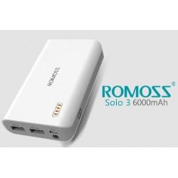Romoss Solo 3 6000mAh compacte powerbank voor o.a. tablet en smartphone